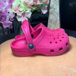 Pink Crocs 💕